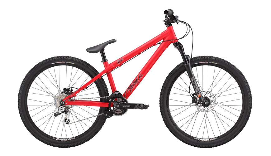 Commencal Absolut AL matt red